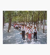 School children  Tianjin May 1981 Photographic Print