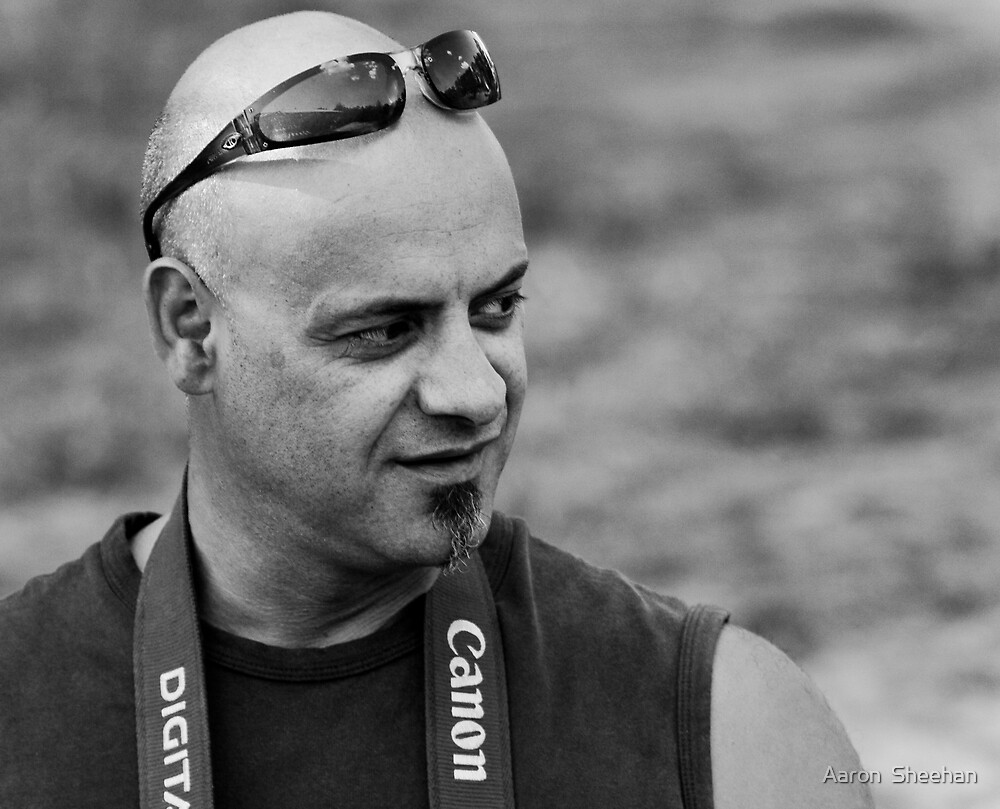 Mr Candid by Aaron  Sheehan