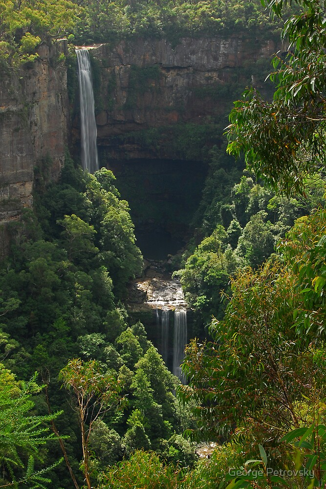 Belmore Falls No 1 by George Petrovsky
