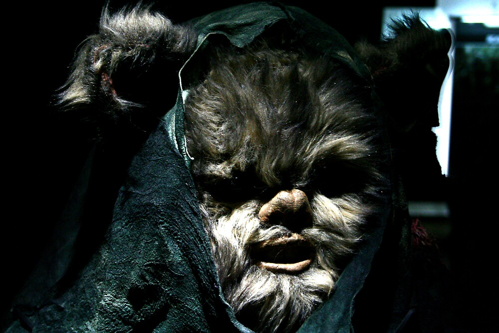 Ewok darkness by BenGartrell