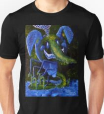 Seven Titted, Four Caned, Psychic Elephant Snake Dog Ghost  T-Shirt
