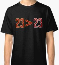 LeBron Greater Than Jordan (Black) Classic T-Shirt