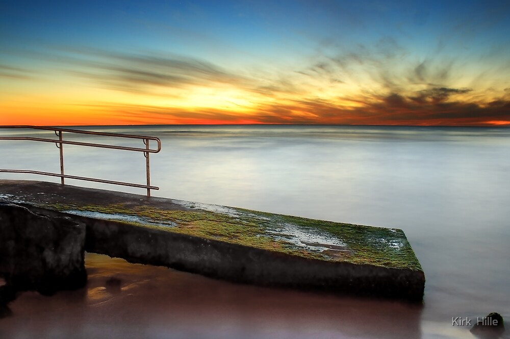 Trig Beach Sunset Part II by Kirk  Hille