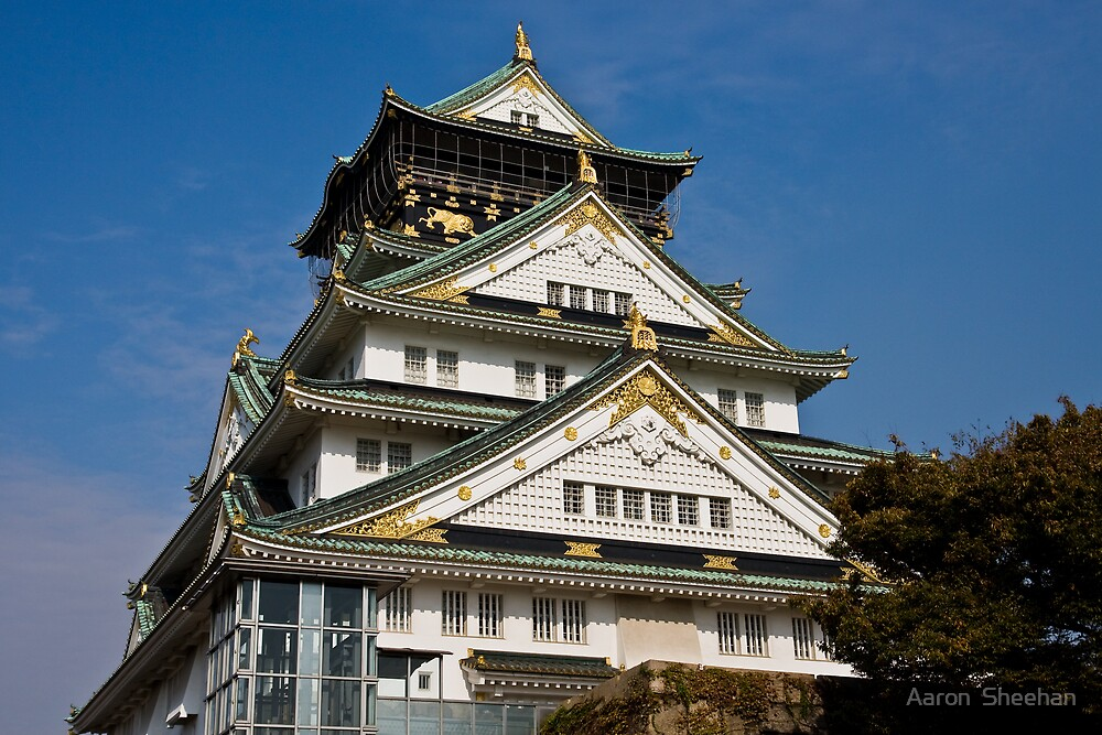 Osaka Castle by Aaron  Sheehan