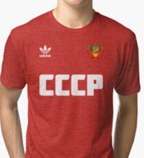 Soviet football team Tri-blend T-Shirt