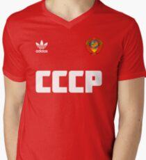 Soviet football team Men's V-Neck T-Shirt
