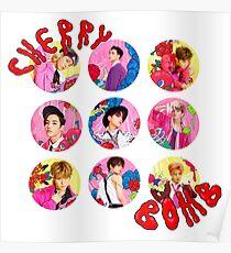 NCT 127 - Cherry Bomb Members Poster
