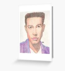 Actor Ben Affleck Greeting Card
