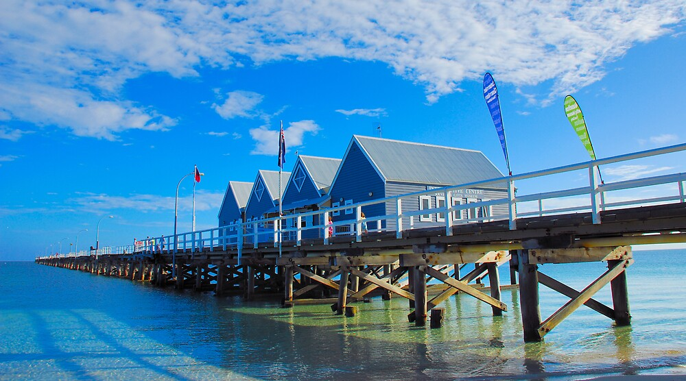 Busselton Jetty  by SPQQKY