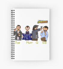 Impractical Cartoon 1 Spiral Notebook