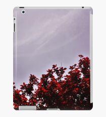 Red Treetops  iPad Case/Skin
