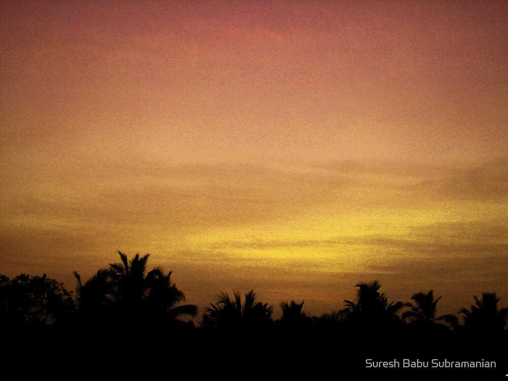 At Sunrise by Suresh Babu Subramanian