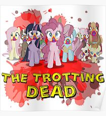 my little pony zombies the trotting dead Poster