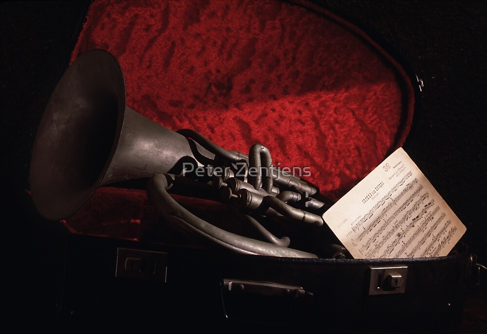 Father's Tuba by Peter Zentjens