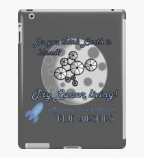 Do You Think Earth is Bland? 2 iPad Case/Skin