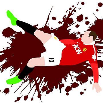 Wayne Rooney Bicycle Kick by HTWallace