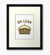 A Crown On Loan Framed Print