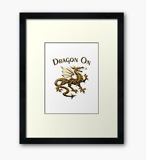 Dragon On And On Framed Print