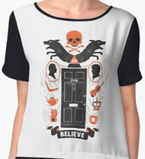 221B Baker Street Chiffon Top