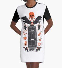 221B Baker Street Graphic T-Shirt Dress