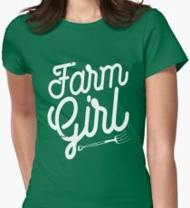 Farm Girl Women's Fitted T-Shirt