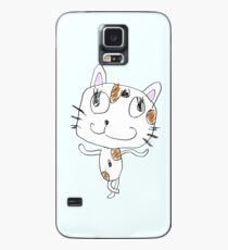 Silly Cat Case/Skin for Samsung Galaxy