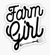 Farm Girl Sticker