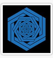 Blue Hexgemony Sticker