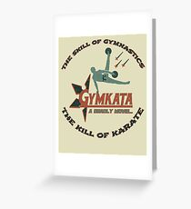 Gymkata worst movie cult t shirt Greeting Card