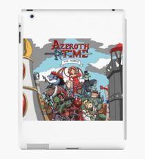 Azeroth time - The Horde iPad Case/Skin