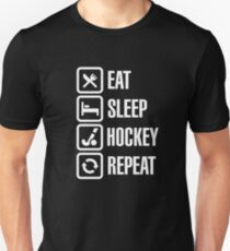 Eat Sleep Field Hockey Repeat Unisex T-Shirt