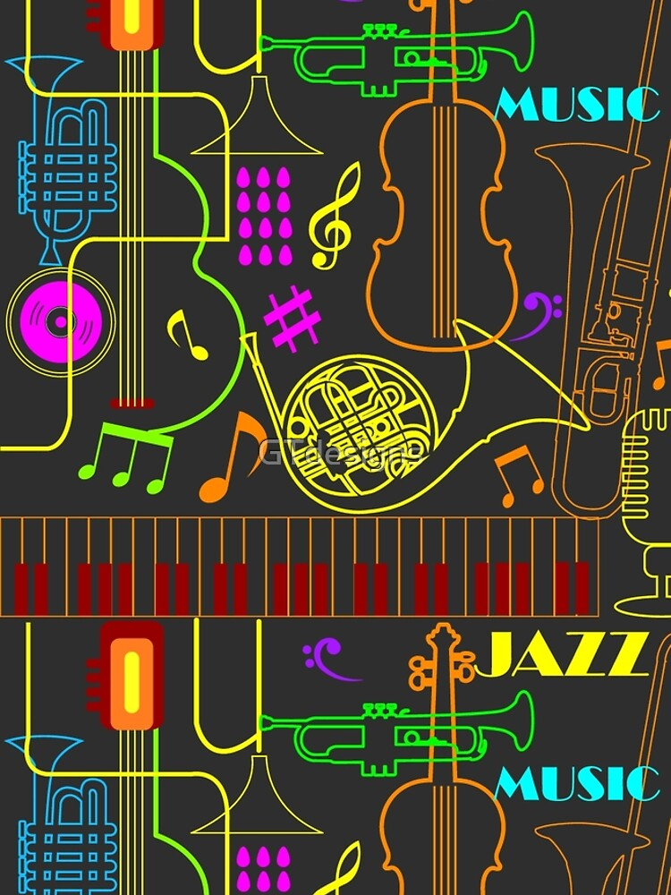 Neon Jazz Fest by GTdesigns