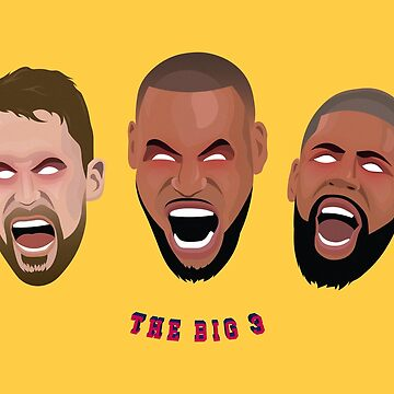 Cavs Big Three by petervuart