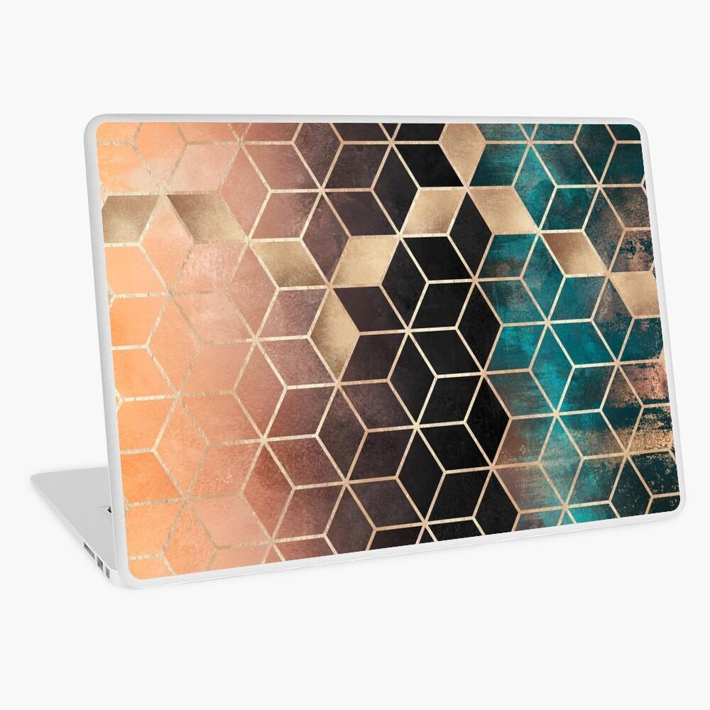 Ombre Dream Cubes Laptop Skin