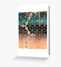 Omre Dream Cubes Greeting Card