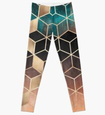 Ombre Dream Cubes Leggings