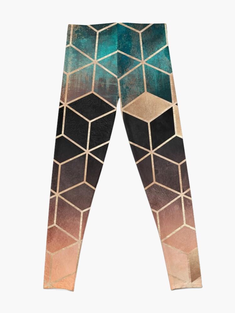 Alternate view of Ombre Dream Cubes Leggings