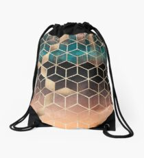Omre Dream Cubes Drawstring Bag