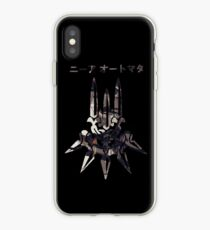 NieR Automata Yorha art iPhone Case