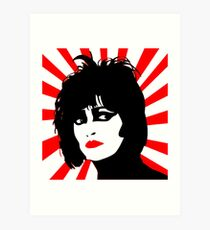 siouxsie and the banshees Art Print
