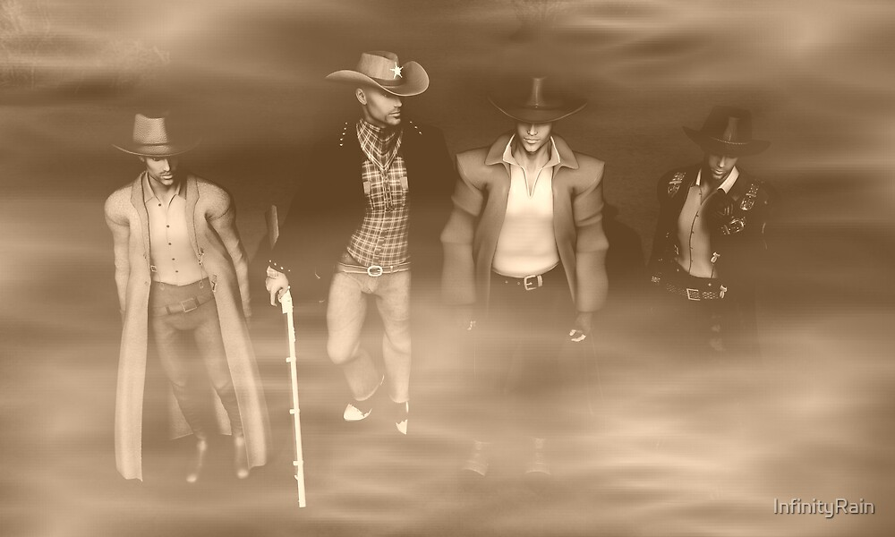 ....Out of a Dust Storm they came by InfinityRain