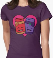 Peanut Butter and Jelly - Heart T-Shirt