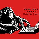 Chimps DNA by TiagoChagas