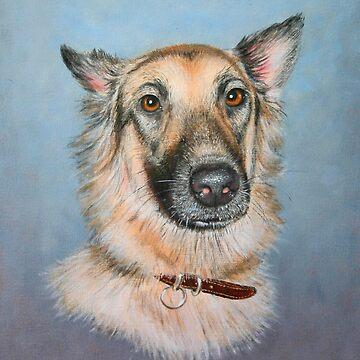 Bonnie dog by briantowers