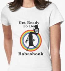 LGBT Babashook Womens Fitted T-Shirt