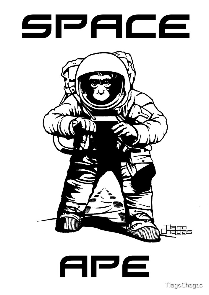 Space ape by TiagoChagas