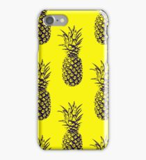 Happy Yellow Pineapples iPhone Case/Skin