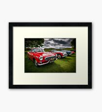Volvo P1800 Coupe  Framed Print
