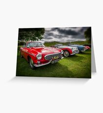 Volvo P1800 Coupe  Greeting Card