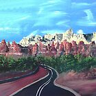 Highway #179  by WhiteDove Studio kj gordon